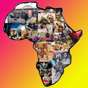 África niña, madre ymujer.